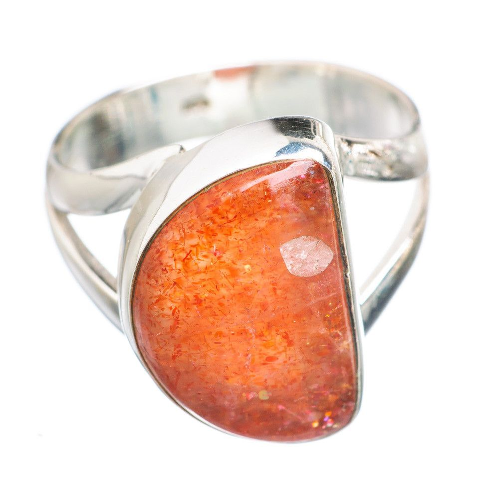 Sunstone 925 Sterling Silver Ring Size 6.25 RING705532