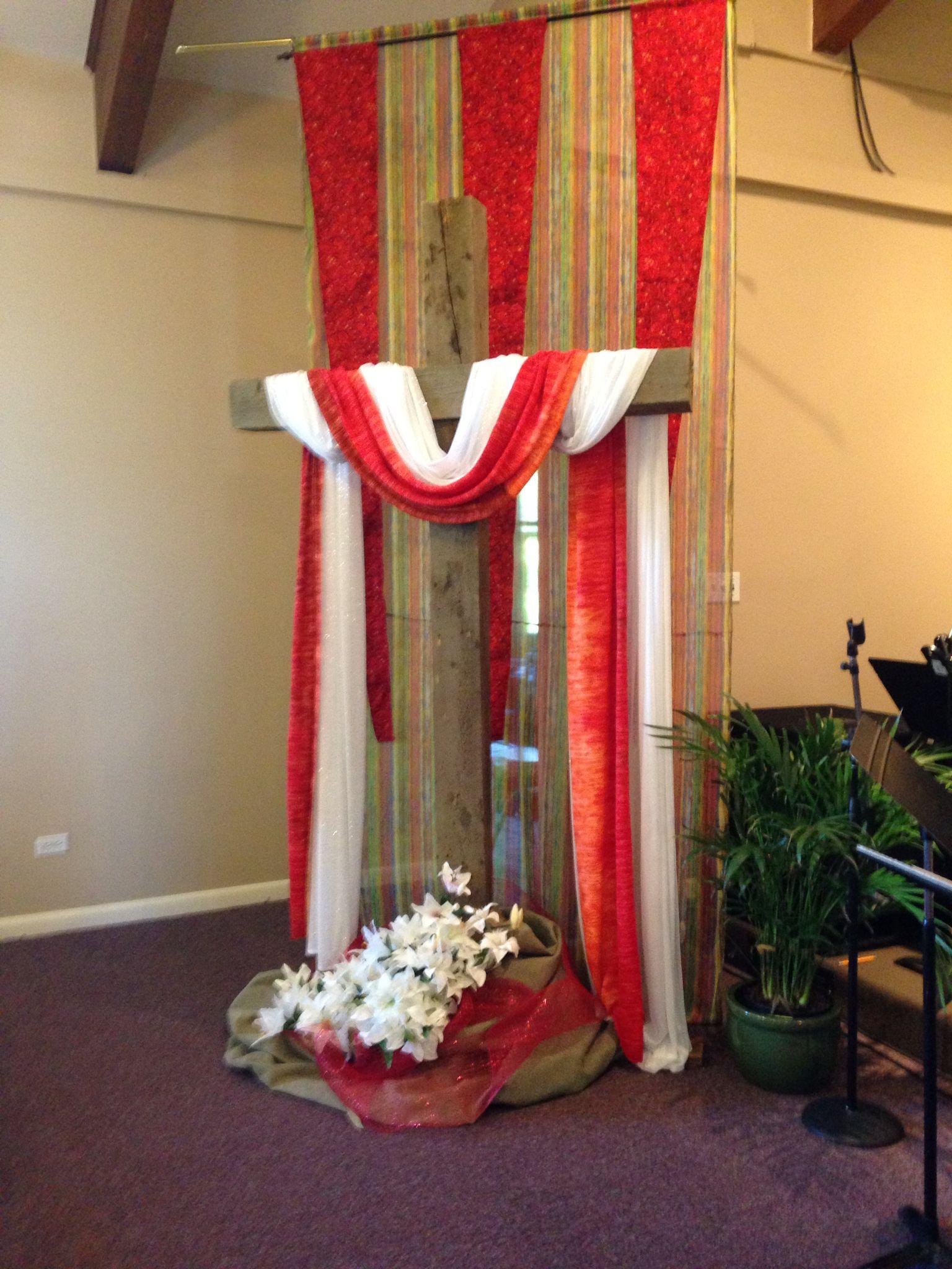 Pentecost Sunday Church Seasons Pentecost Altar Decorations