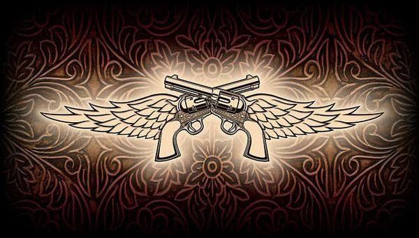 Miranda lambert 39 s pistol annie 39 s tattoo tattoos for Miranda lambert tattoo on arm