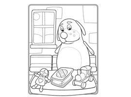 Disney Junior | Udskriv og farvelæg - Doktor McStuffins