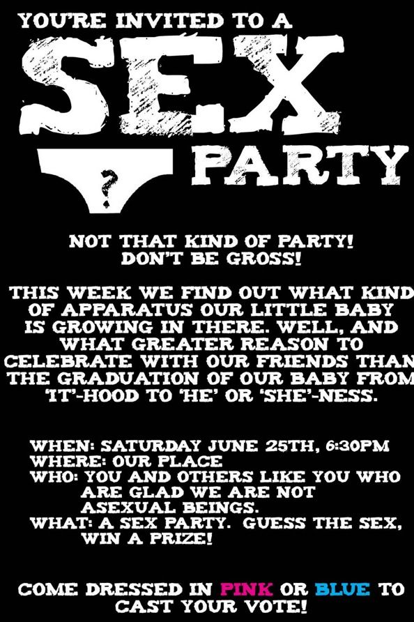 Finding out the sex of the baby party invitation baby party party finding out the sex of the baby party invitation funny pictures hilarious jokes meme humor walmart fails stopboris Choice Image