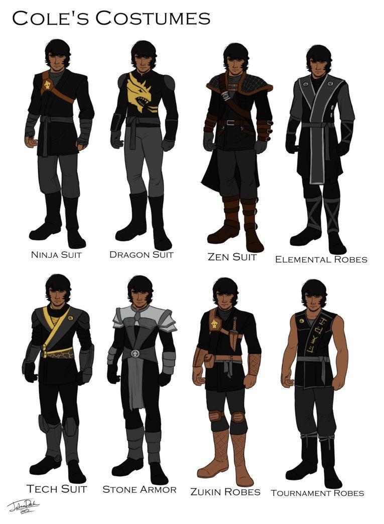 Cole's costume design by joshuad17.deviantart.com on @DeviantArt