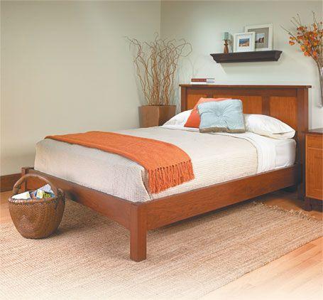 Platform Bed Woodsmith Plans Furniture Plans Pinterest Bed