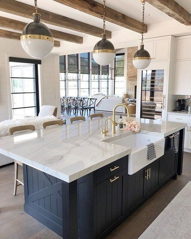 80 great farmhouse kitchen countertops design ideas and decor 73 ~ Design And Decoration #farmhousekitchencountertops