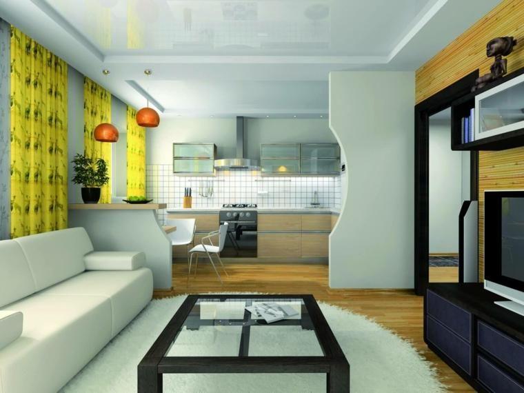Offene Küchen zum Wohnzimmer \u2013 Ideen für Design und Dekoration