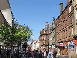 perth scotland - went shopping here & had tea!