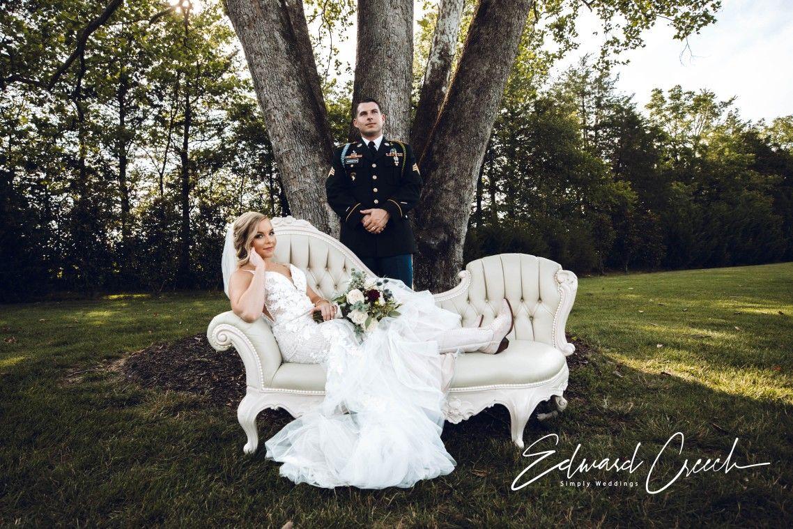 July 20th Military Wedding in Nashville. in 20   Elegant white ...