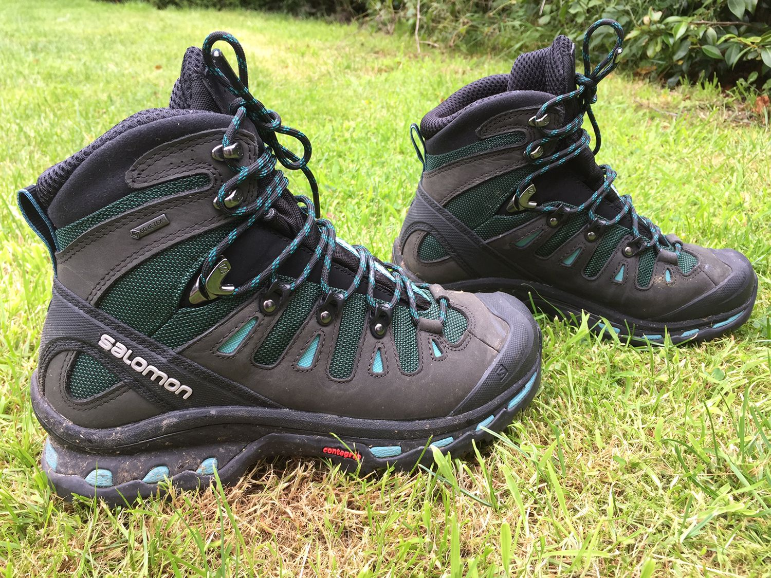 52784fe30c36 Salomon Shoes Quest 4D 2 GTX Womens Walking Boots On sale for 119 at time  of writing from Millet SportsFind Out more Features Nubuck leather for  longer wear ...
