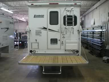 Rv Net Open Roads Forum Truck Campers Rear Patio Decks