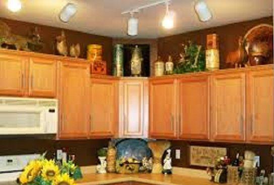 Dekorasi Hiasan Diatas Kabinet Dapur Terpor Gambar 211