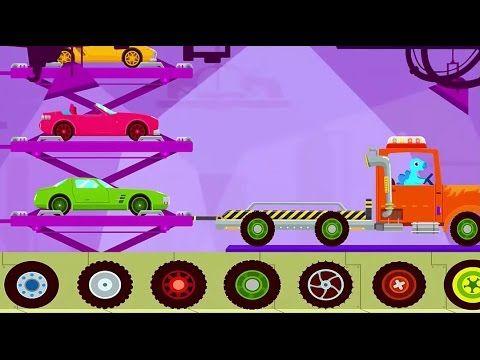 Games For Kids Truck Driver Monster Truck Car Dinosaur