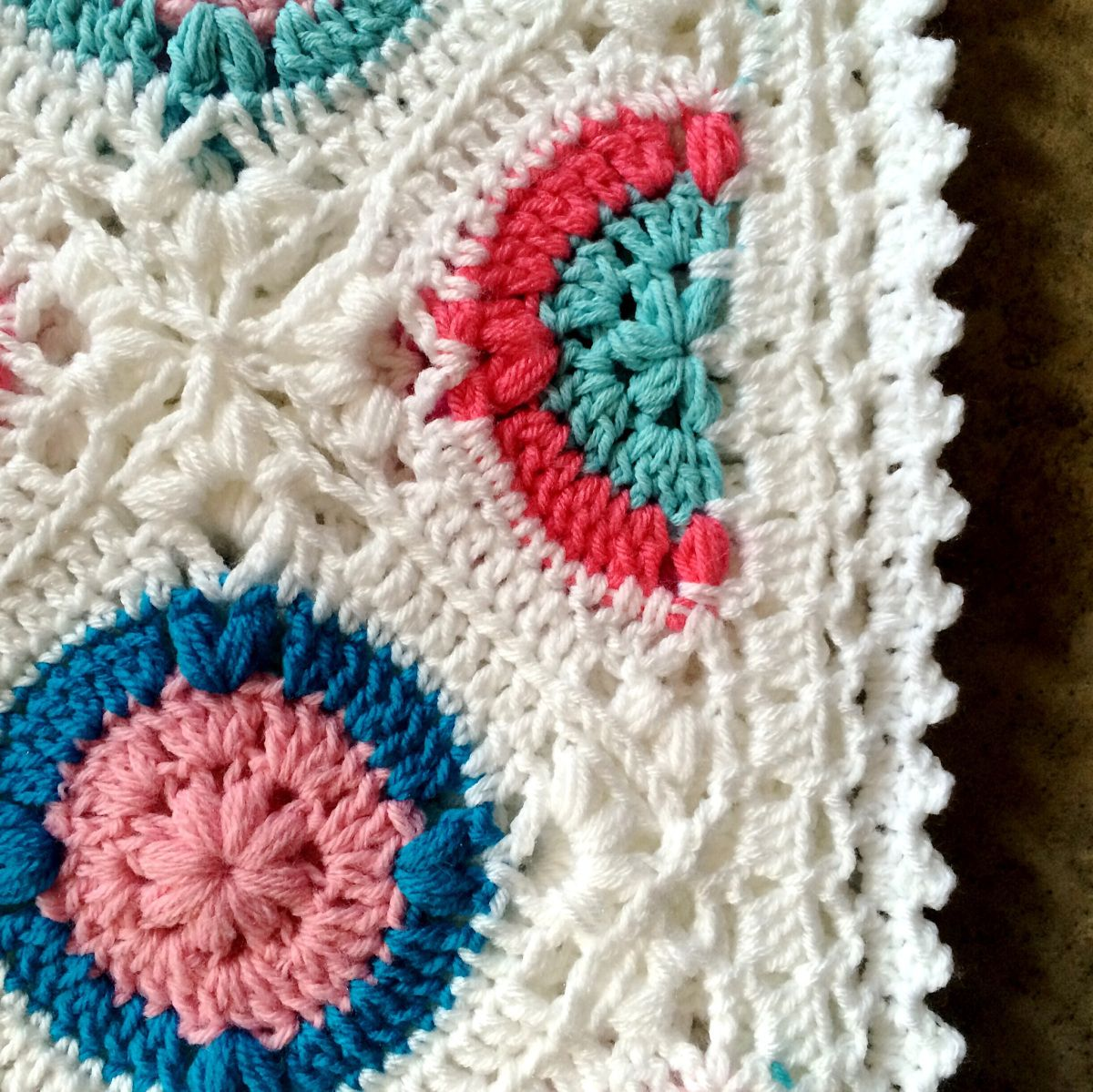 Lacy Peaks Edging Tutorial This is a fabulous (and easy!) 5-round ...