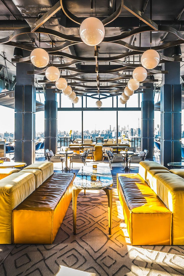 Westlight of the William Vale hotel NYC Rooftop bars