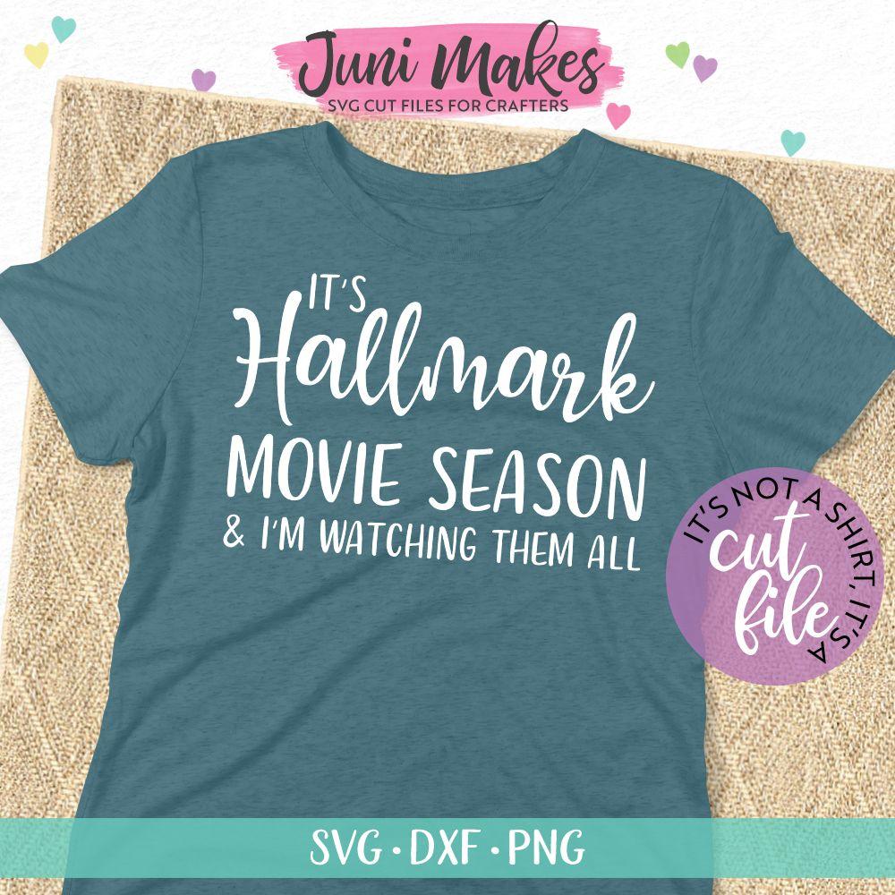 It's Hallmark Season SVG Christmas SVG TShirt Design