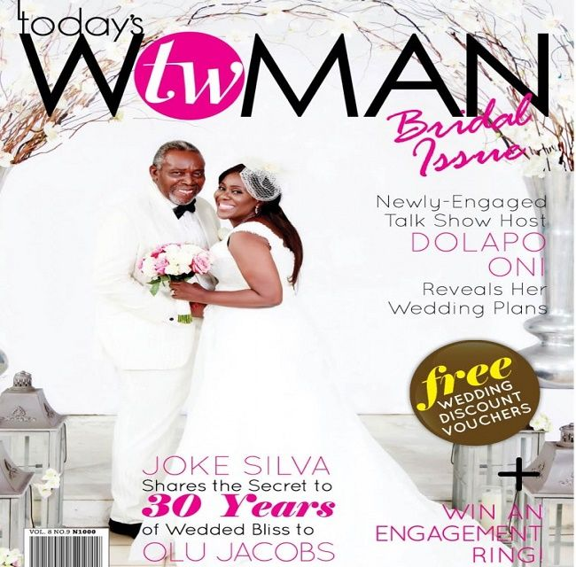 Celebrity Wedding Vows Examples: Nice Awww: Photos Of Olu Jacobs And Joke Da Silva Renewing