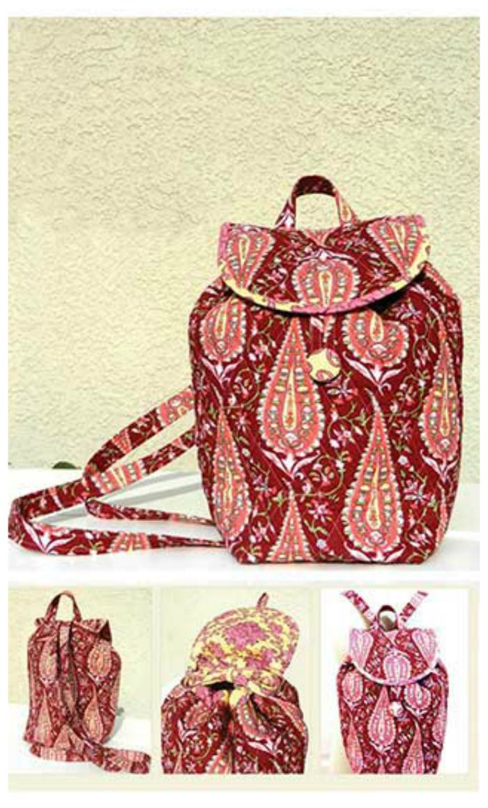 Chelsea Backpack Sewing Pattern. Carry all of your essentials and ...