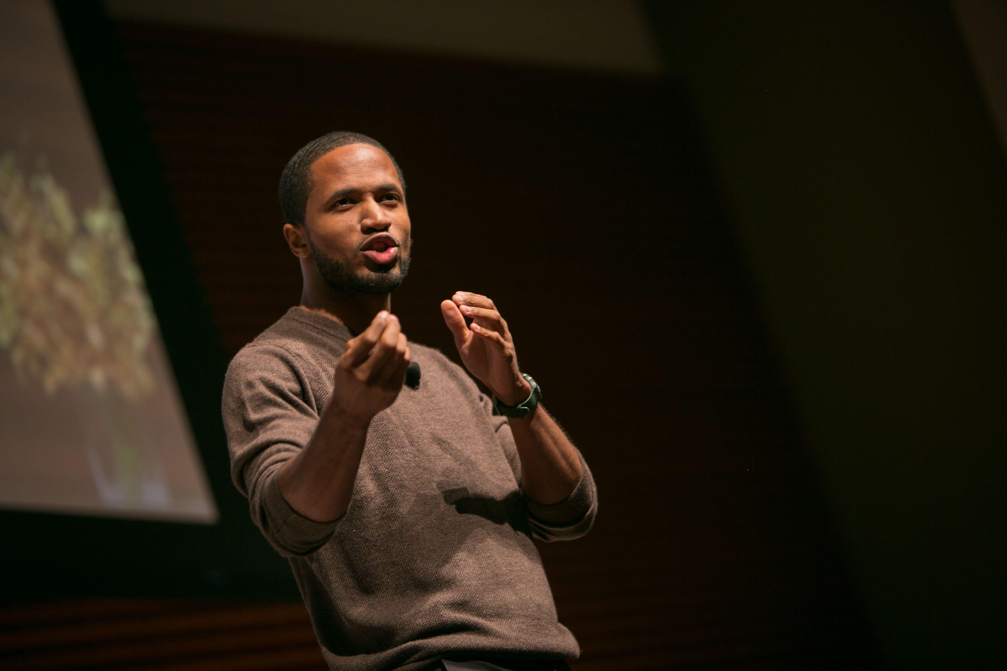 Poet Marshall Davis Jones on Unseen Connectivity #SIS13