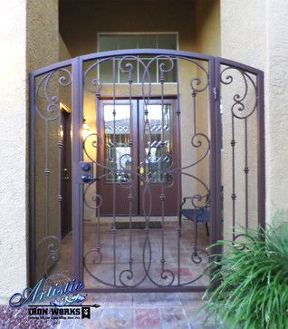 Pics Of Front Door Security Iron Gates All Products