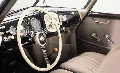 Porsche 356 Interior #classic #car #vintage #interior #fancy #classy #oldschool #porsche