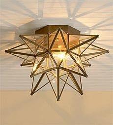Moravian Star Light Moravian Star Light Foyer Lighting