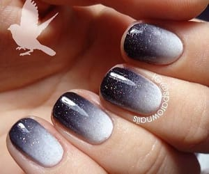 Fabsoutherndiva Southerngrl121 On We Heart It In 2020 Nail Art Ombre Ombre Nails Grey Nail Designs