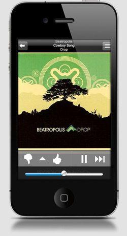 Pandora Free App create a customtailored radio