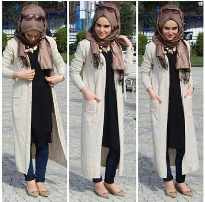 Populaire hijab   my hijaab   Pinterest   Mode hijab, Styles de hijab et  MC91