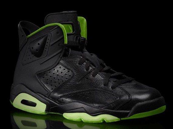 """Air Jordan VI """"Black/Neon Green"""