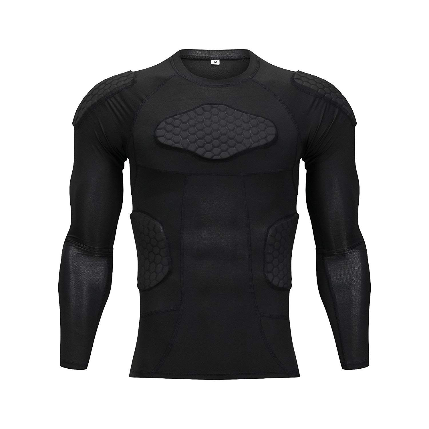 Classic padded compression shirt long sleeve padded