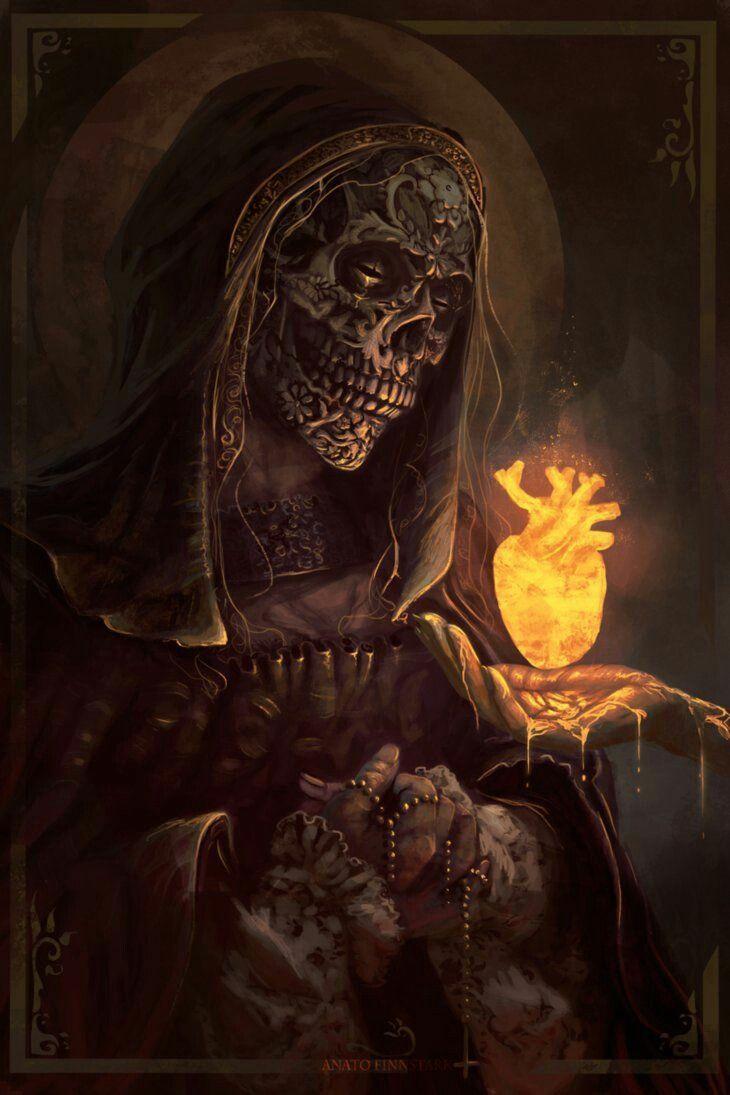 В душе так пусто, что почти светло, И смерть близка, как ...