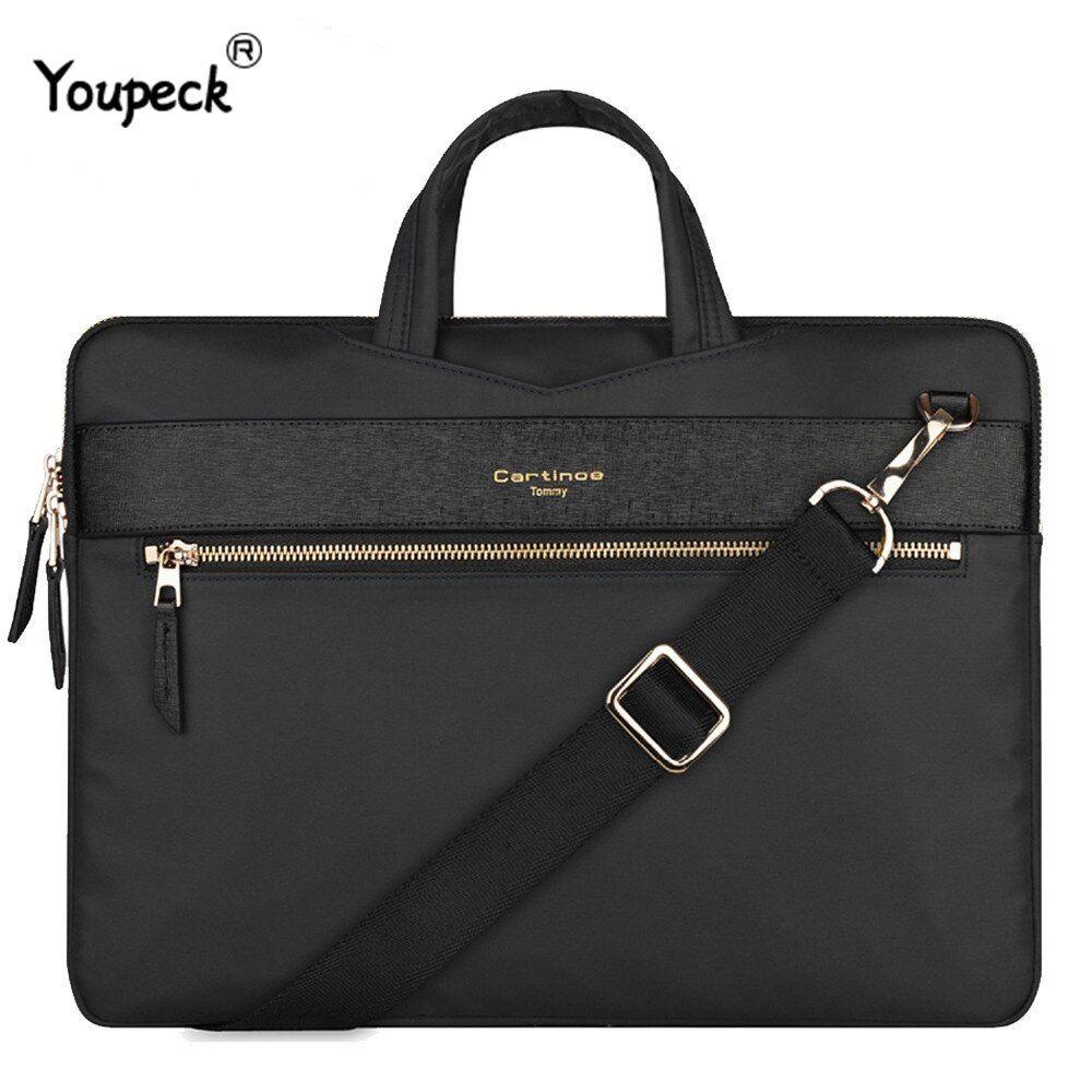 YIYINOE Shoulder Bag for 17 inch Laptop Business Briefcase Waterproof Messenger Bags Black