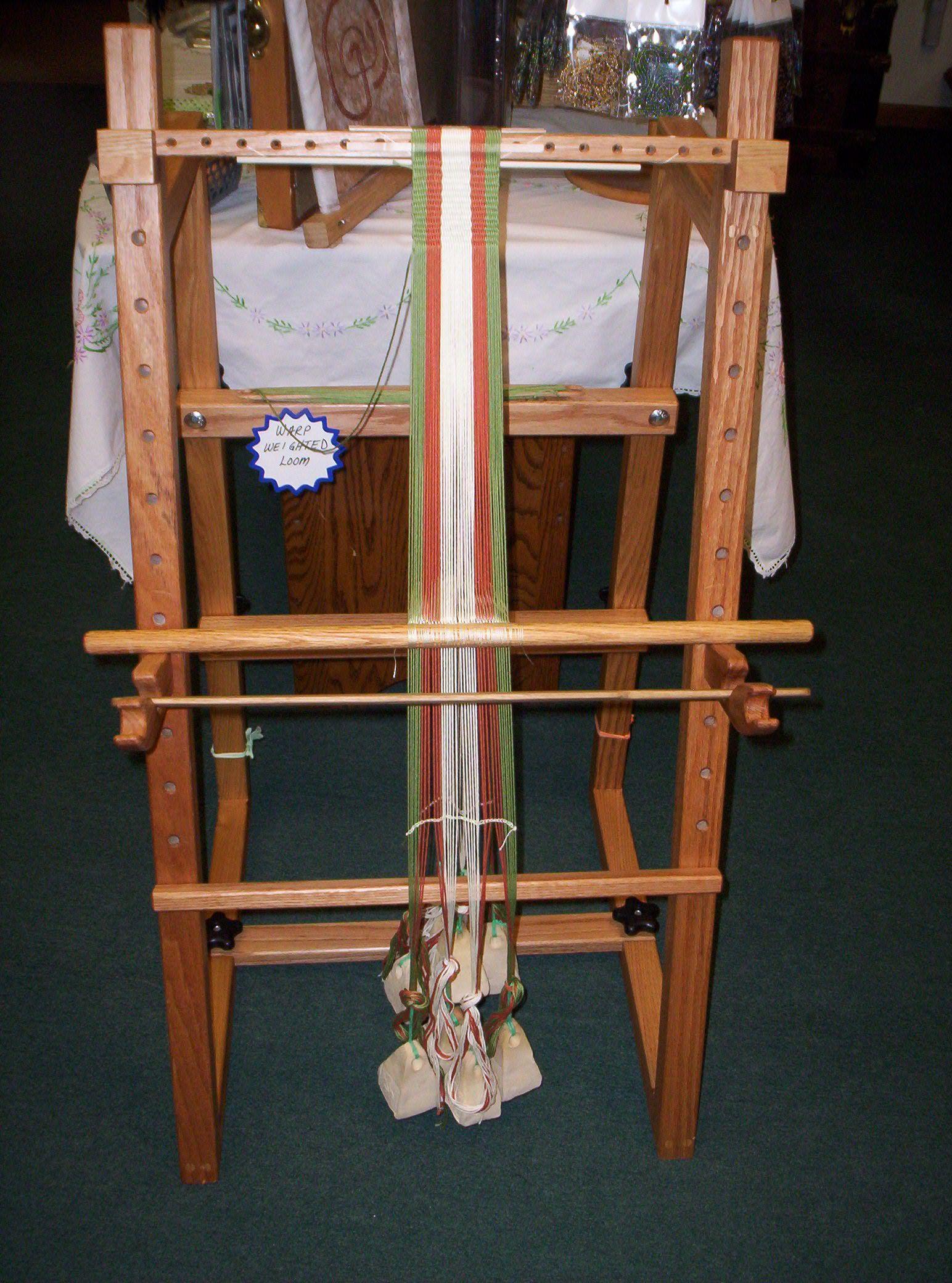 Ceramic loom weights, anyone? http://www.reannagteine.com/Products/FiberTools.html