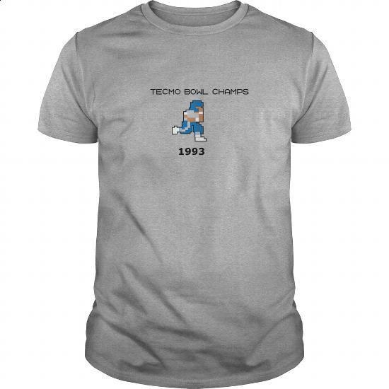 1993 Tecmo Bowl Champs - #long tee #statement tee. BUY NOW => https://www.sunfrog.com/Geek-Tech/1993-Tecmo-Bowl-Champs-Sports-Grey-Guys.html?68278