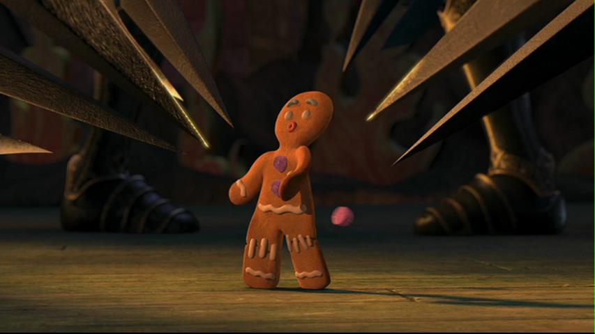 Caption this Gingy poops Shrek, Photo, Halloween fun
