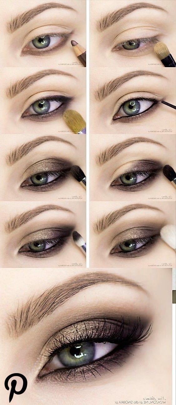 15 Schritt für Schritt Smokey Eye Makeup Tutorials für