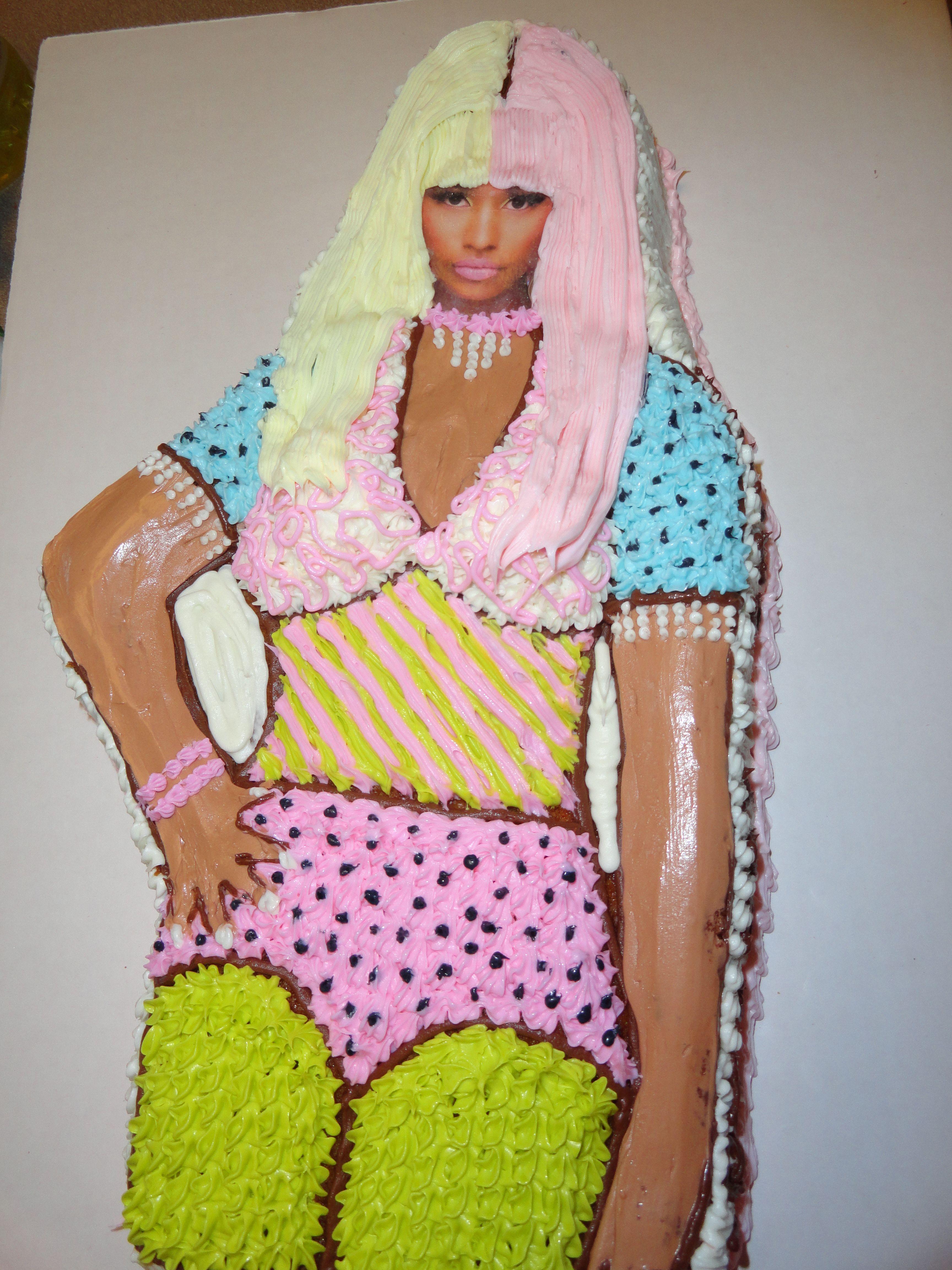 My Nicki Minaj Cake