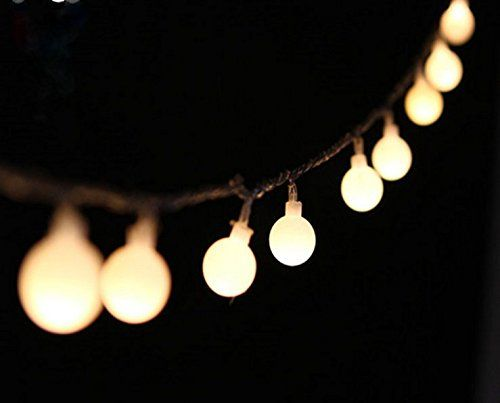 String Globe Lights Pleasing Peacejoy 100 Led Globe Light Strings Indoor Outdoor Decoration Inspiration