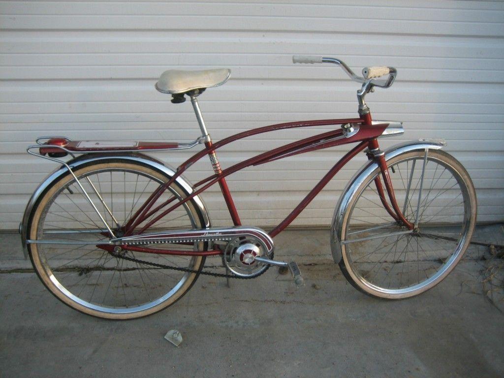 Vintage hiawatha tank bike