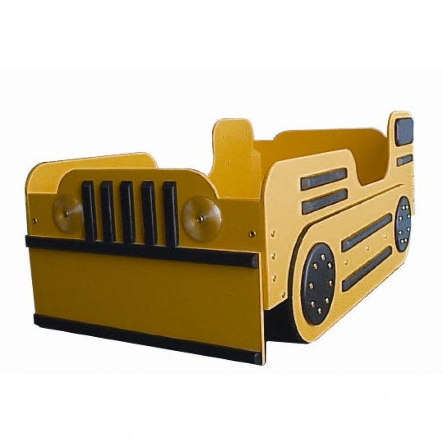 Just Kids Stuff Bulldozer Toddler Bed Jks007 X Toddler Car Bed