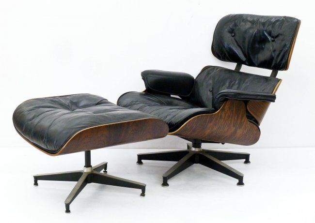 Lot 156 Charles Ray Eames Rosewood Lounge Chair Ottoman