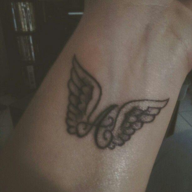 Aile D Ange Tatoo tatouage ailes d'ange poignet | tatouage poignet | pinterest