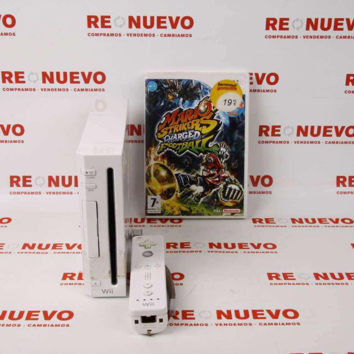 Consola Wii Juego 2 Nunchuck E269405 Consola Wii De Segunda