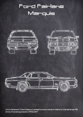 Ford Fairlane Marquis | Displate thumbnail