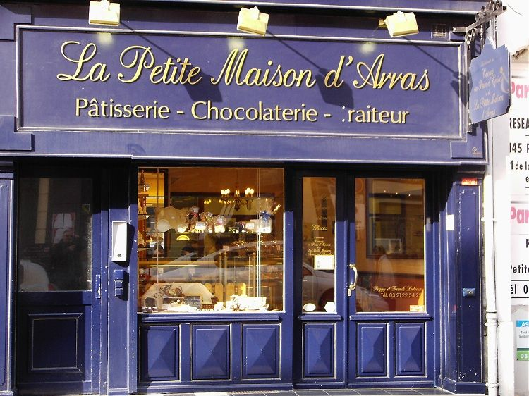 Chocolate shop in arras france france france wine