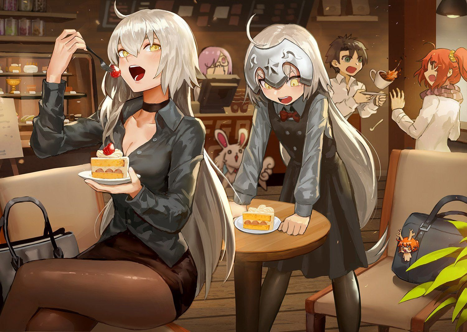 Jalter & Lily at the Party