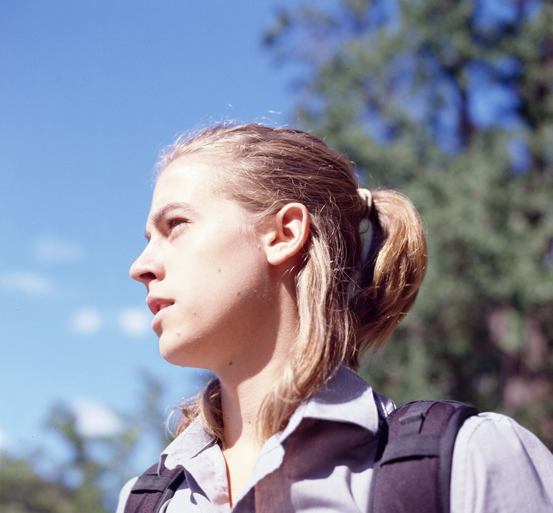 Cole Sprouse With Ponytail Long Hair Styles Men Long Hair Styles Cole Sprouse