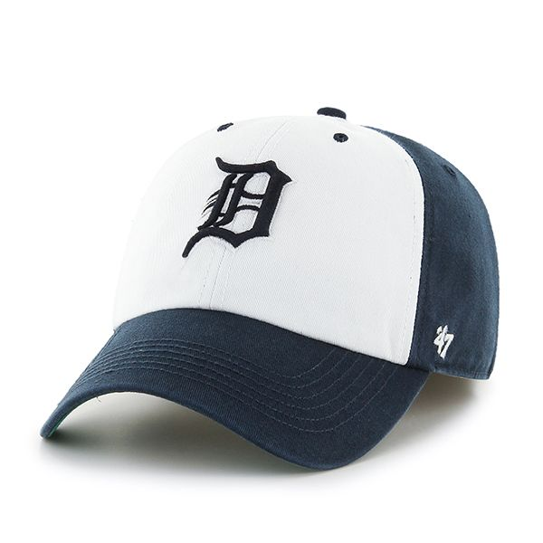 be2e94c839da0 Detroit Tigers Franchise Navy 47 Brand Fitted Hat