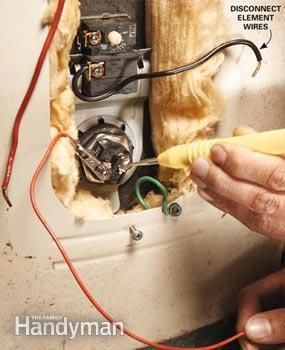Gas Water Heater Thermostat Replacement