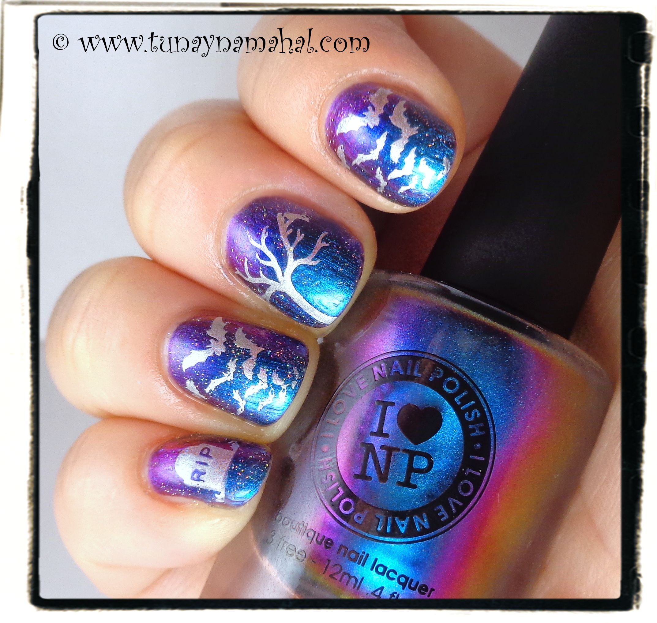 Walgreens Halloween Nail Polish: Halloween Nails With I Love Nail Polish, Ultra Chrome