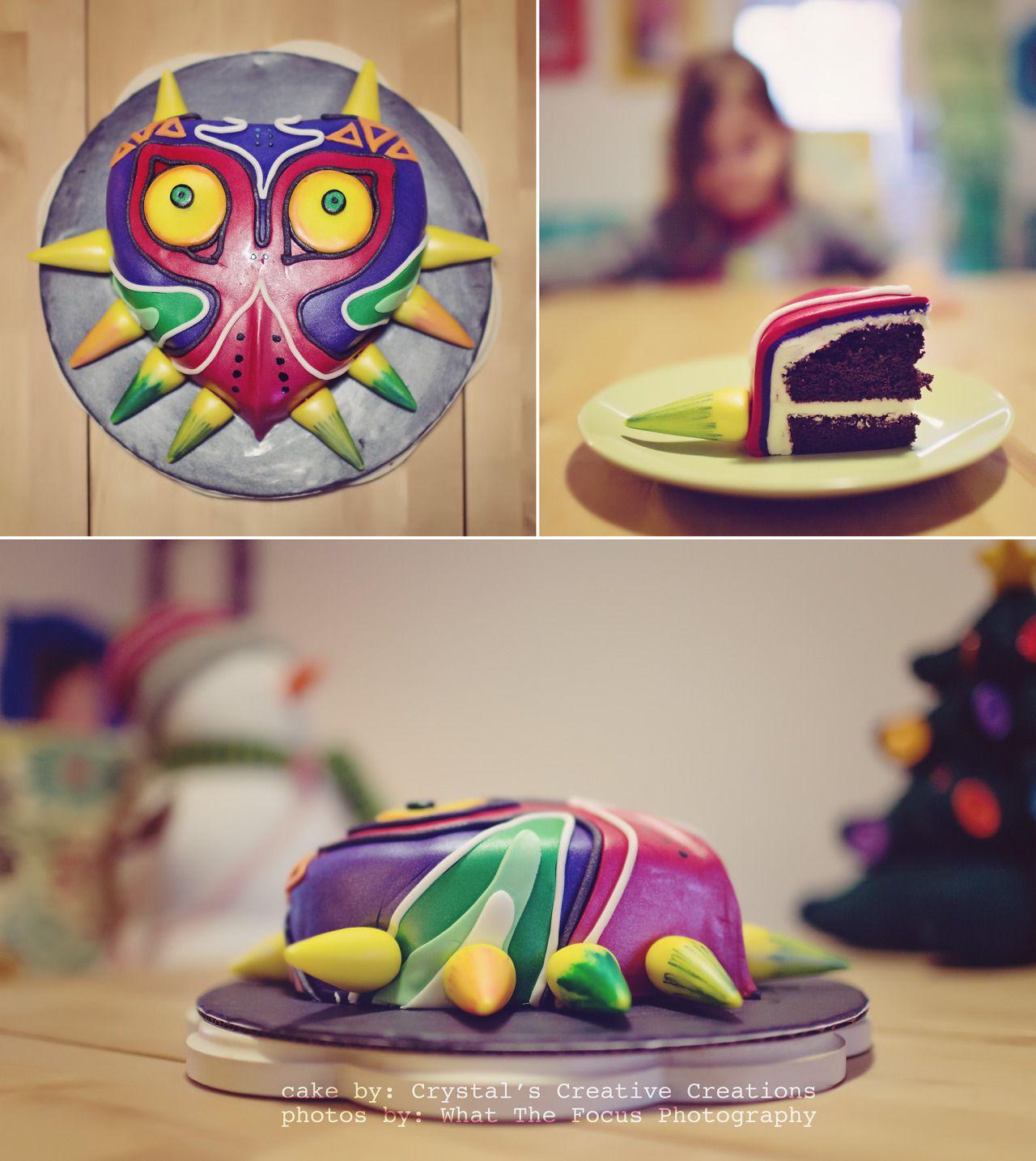The Legend Of Zelda Majoras Mask Cake Video Game Cake